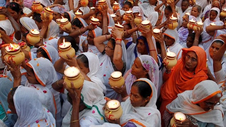 Janda-janda di Vrindavan (Reuters)