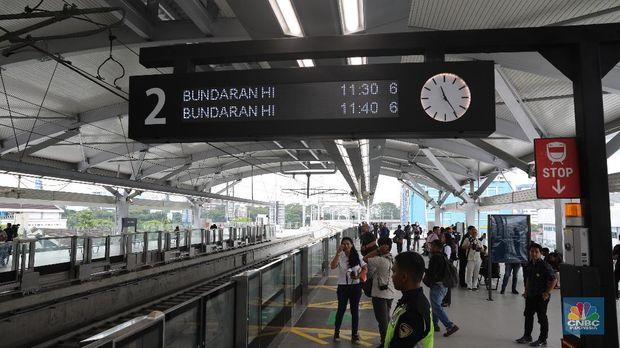 Stasiun MRT Lebak Bulus, Saksi Pertemuan Jokowi-Prabowo
