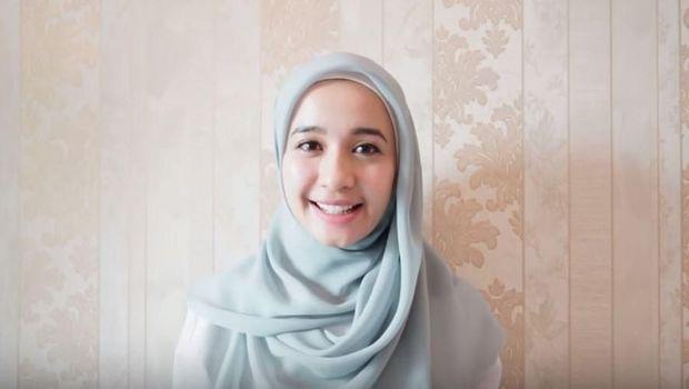 4 Tutorial Hijab Terbaru Laudya Cynthia Bella, Ala Malaysia hingga Syar'i