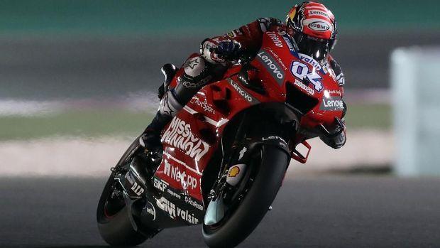 Andrea Dovizioso berpeluang menjadi pesaing terberat Marc Marquez di MotoGP Spanyol 2019. (