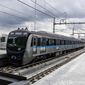 Jalur MRT Jakarta Fase II Dibangun di Bawah Tanah
