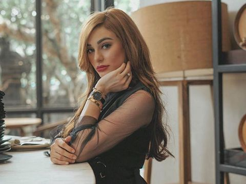 Nora Alexander, model cantik yang disebut tengah dekat dengan Jerinx SID.