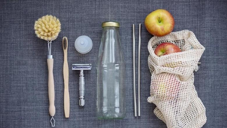 Ilustrasi pengganti kantong plastik/ Foto: iStock