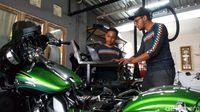 Bengkel Harley di Semarang Ini Pernah Servis Motor Gibran
