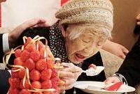 Makan Enak Jadi Rahasia Panjang Umur Kane Tanaka, Orang Tertua