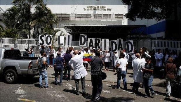 Derita Warga Venezuela dalam Gelap Gulita