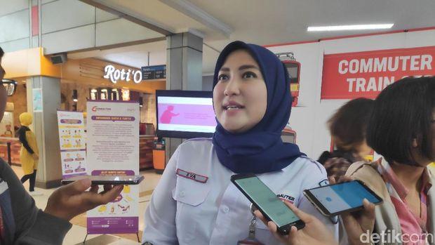 Vice President Komunikasi PT Kereta Commuter Indonesia (KCI) Eva Chairunisa