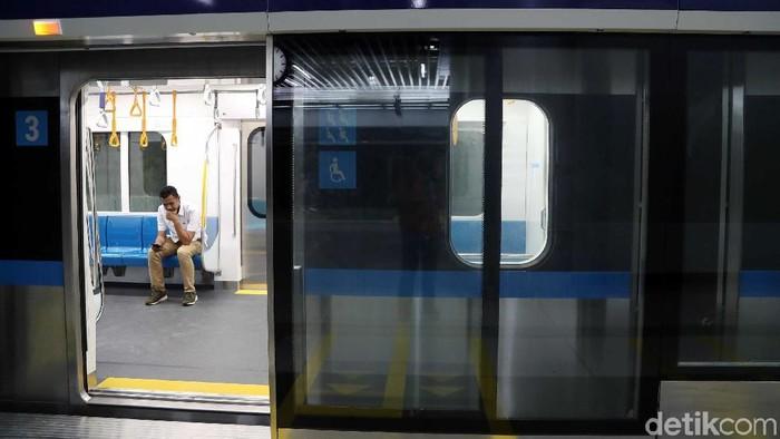Ilustrasi MRT Jakarta. Foto: Pradita Utama