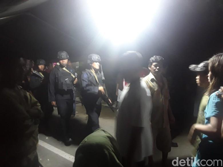 Suasana di TKP Bom Sibolga: Polisi Bersenjata Berjaga, Warga Tak Bisa Pulang
