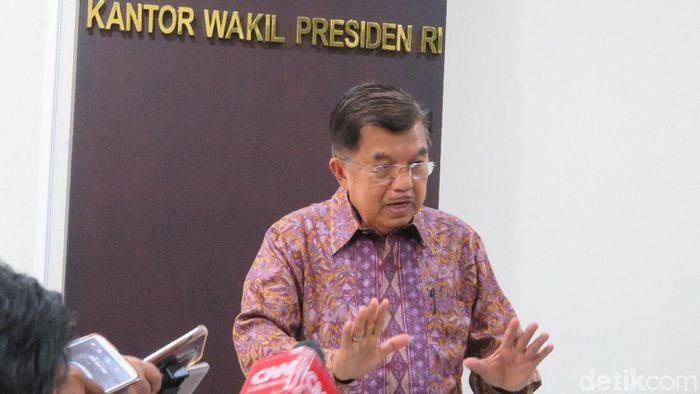 Wapres Jusuf Kalla/Foto: Noval Dhwinuari Antony-detikcom