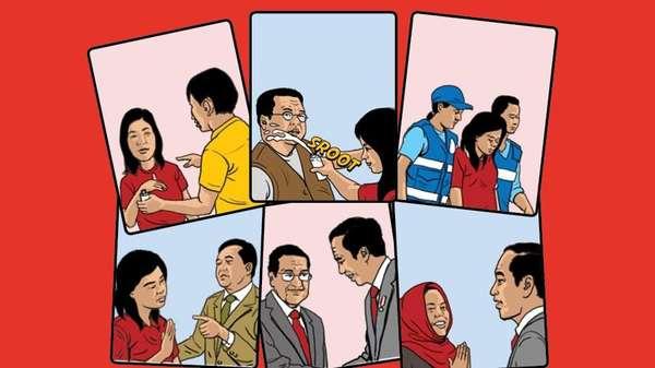 Lobi Menteri hingga Jokowi Bebaskan Siti