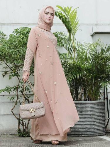 Tren Baju Kondangan Hijab Terbaru 2019 Cantik Nggak Pakai Ribet