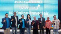 Gaet Traveloka, BRI Gelar Online Travel Fair Diskon Hingga 30%