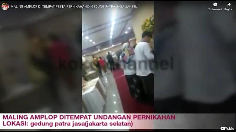 Viral! Ibu-Anak Ketahuan Curi Amplop di Kondangan di Patra Jasa