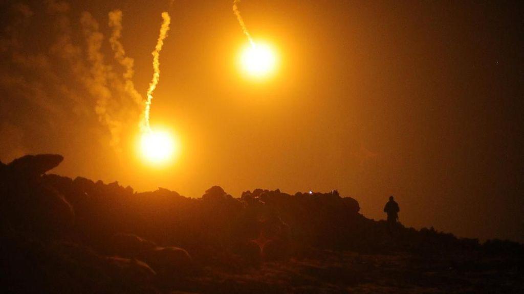 Rusia Lancarkan Serangan Udara di Suriah, 17 Orang Tewas