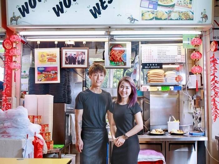Jayden Cheong dan Elizabeth Huang. Foto: Facebook