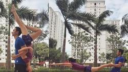 Rebecca Tamara punya gaya hidup sehat yang oke punya. Ia pun terbilang aktif berolahraga sekaligus menjalankan pola makan sehat. Luar biasa banget!