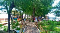 Kondisi RPTRA Pulau Pramuka Yang Diresmikan 2 Tahun Silam