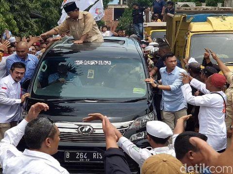 Mobil milik Chep yang dipinjamkan ke Prabowo.
