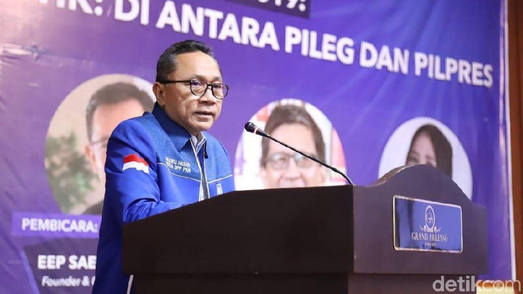 Zulhas Bantah Tekan DPD PAN untuk Kembali Pilih Dirinya Jadi Ketum