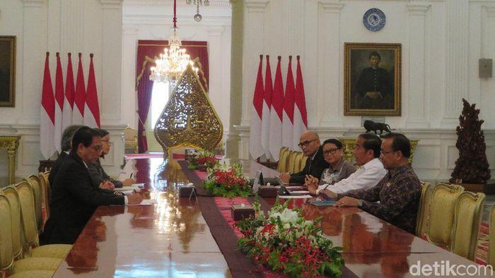 Foto: Presiden Jokowi temui Menlu Thailand/Noval-detikcom