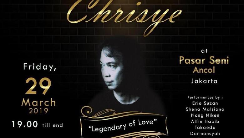 Foto: Rencana Konser Tribute to Chrisye di Ancol (dok Ancol)