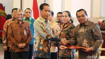 Temui Jokowi, KPK Serahkan Dokumen Stranas