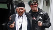 Ashiaaap! Pose Maruf Amin Bareng Atta Halilintar