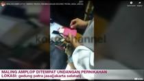 Ibu-Anak Pencuri Amplop di Kondangan Bolak-balik, Ngaku Titip Angpao