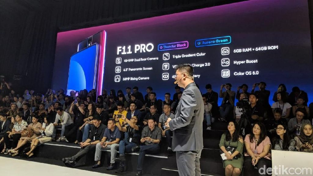 Oppo F11 Pro Bawa Kamera 48 MP, Harganya?
