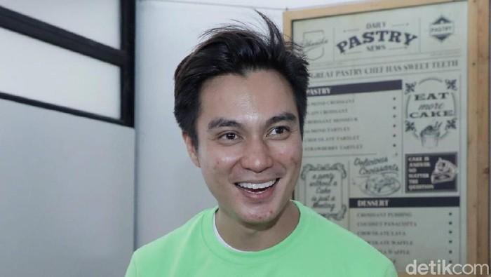 Baim Wong saat ditemui di kawasan Cipete.