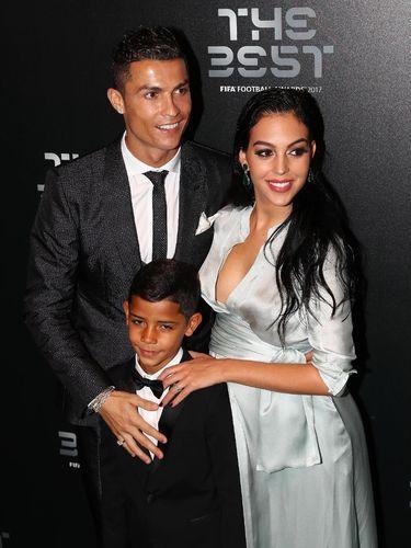 Ronaldo dan kekasihnya Georgina Rodriguez.