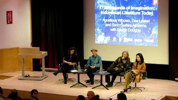 Megahnya Paviliun Indonesia di London Book Fair 2019