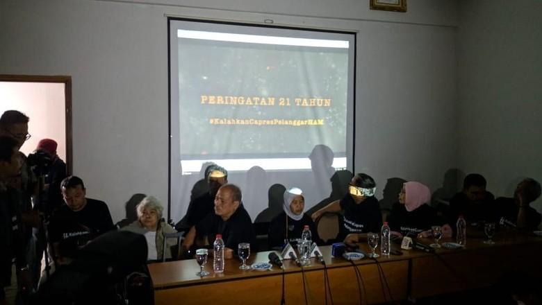 Aktivis-Keluarga Korban Penculikan 98 Tolak Capres Pelanggar HAM