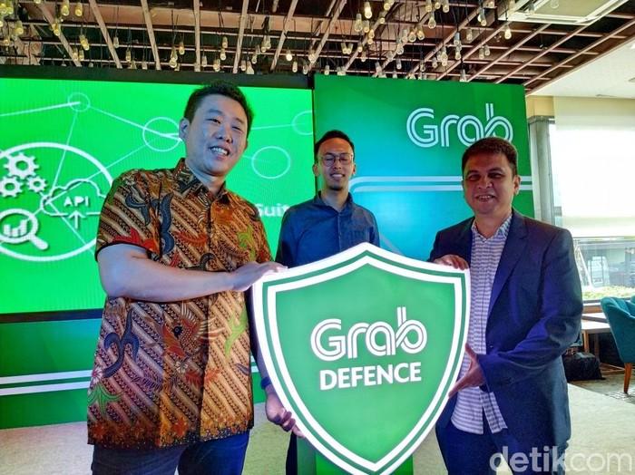 Peluncuran Grab Defence. Foto: Agus Tri Haryanto/inet
