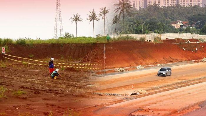 Foto: Ilustrasi Proyek Tol (Andhika Akbaryansyah/detikcom)