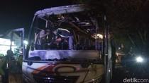 Polisi Periksa 5 Orang Soal Kecelakaan Berujung Aksi Bakar Bus di Sleman