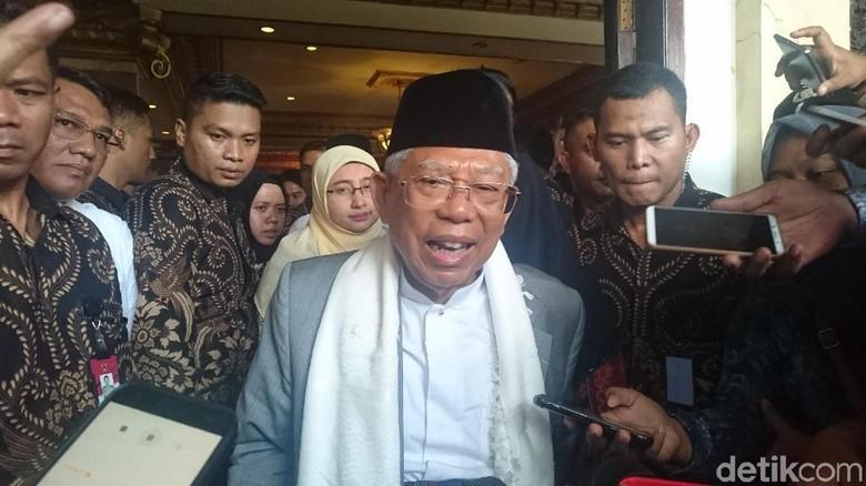 Maruf Amin akan Jelaskan Kartu Pra-Kerja di Debat Ketiga Pilpres