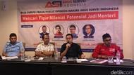 Survei ASI: AHY-Emil Dardak Figur Milenial yang Layak Jadi Menteri
