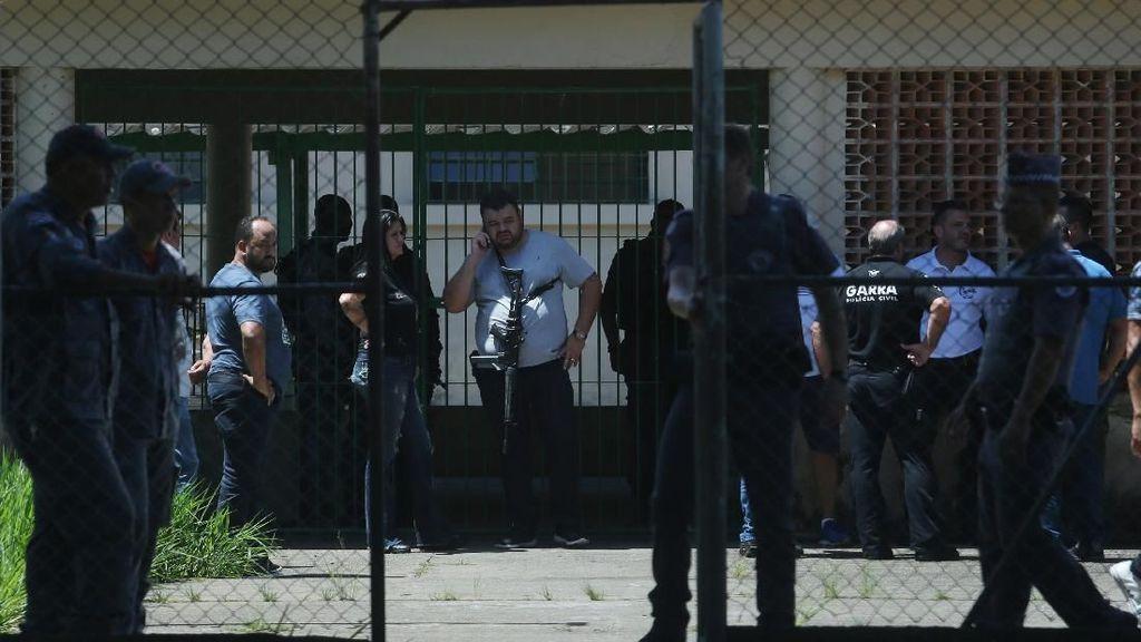 Kesaksian Mengerikan Penembakan Brutal di Sekolah Brasil