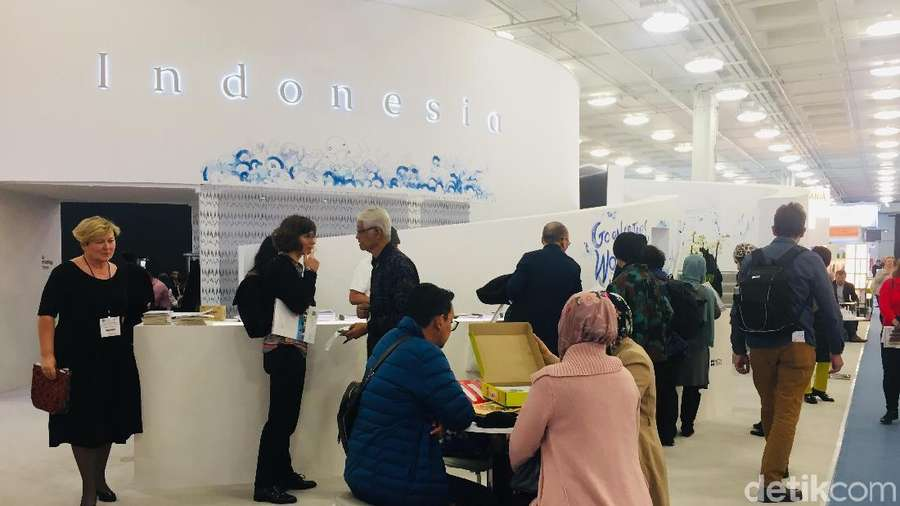 Megahnya Paviliun Indonesia di London Book Fair 2019