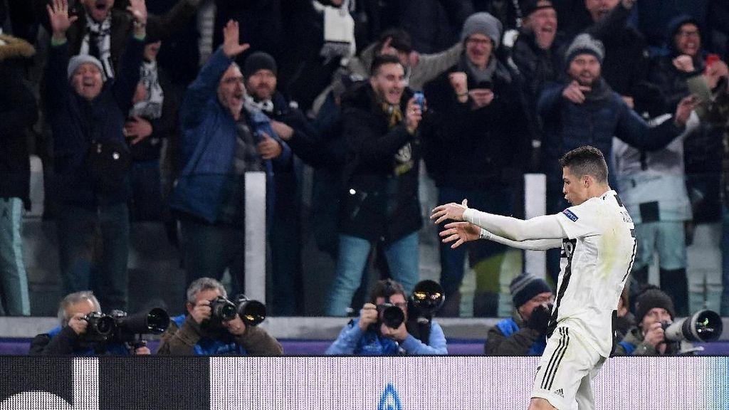 Ronaldo Didenda Rp 320 Juta karena Selebrasi Selangkangan