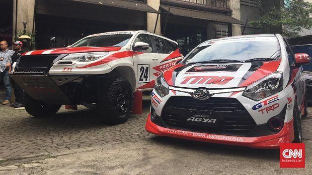 Oprek Mobil Balap Toyota Habiskan Dana Rp1 Miliar
