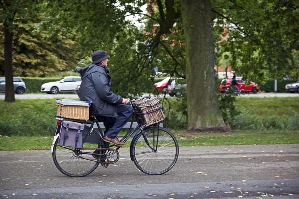 Sepeda merupakan transportasi utama masyarakatnya (iStock)