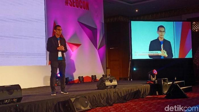 Product Manager of Traveloka Muhammad Ilman Akbar berkisah soal momen tak terlupakan dalam ekspansi ke Vietnam. (Foto: Virgina Maulita Putri/detikINET)