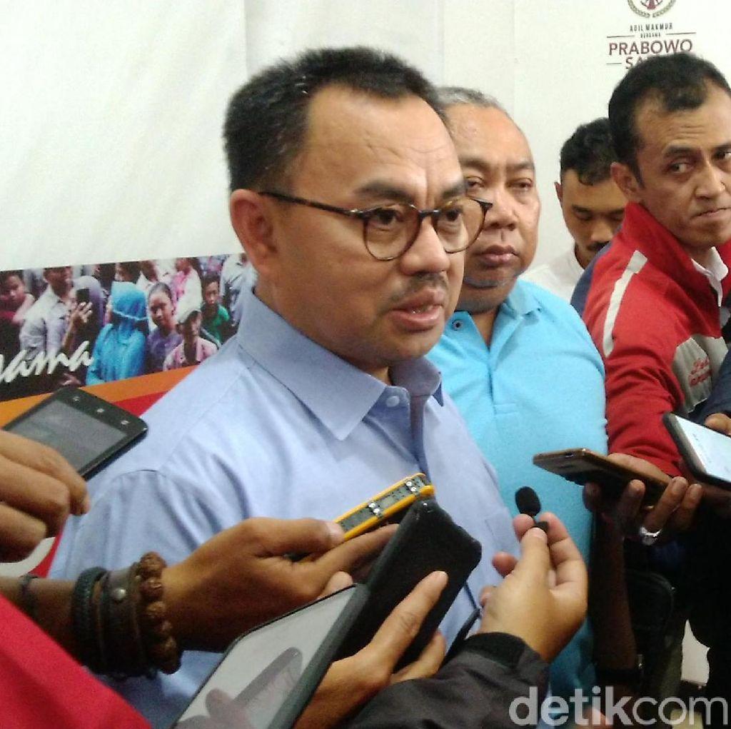 TKN Sindir Prabowo Percaya QC Saat Anies-Sandi Menang, BPN Membela