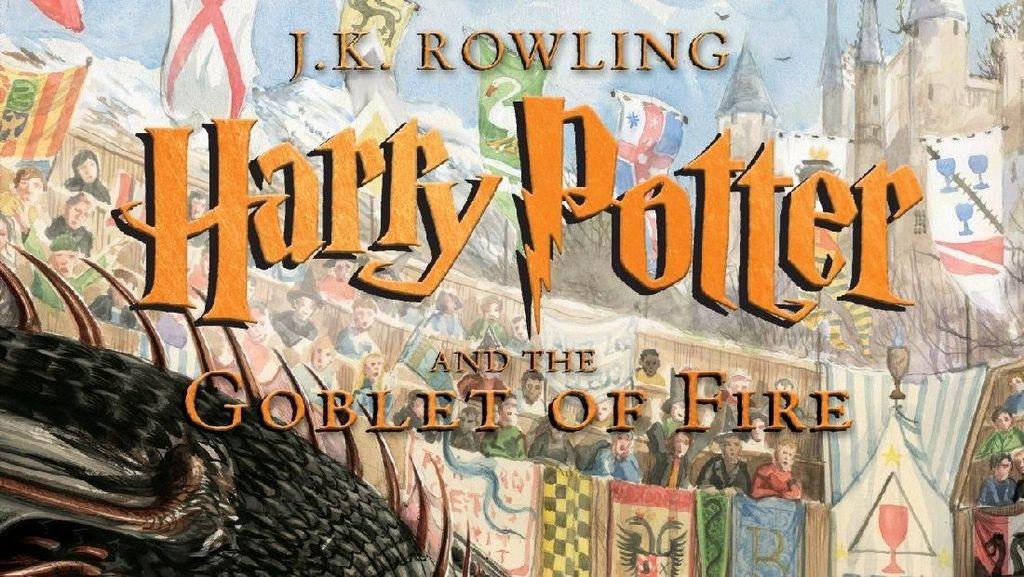 Buku Ilustrasi Harry Potter ke-4 Terlaris di Inggris