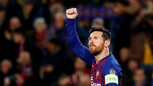 Man United vs Barcelona, Cerita Manis dan Rekor Messi