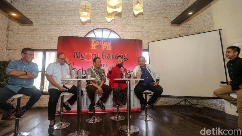 Masinton-Andre Rosiade Kompak Bangat di Diskusi Debat Cawapres