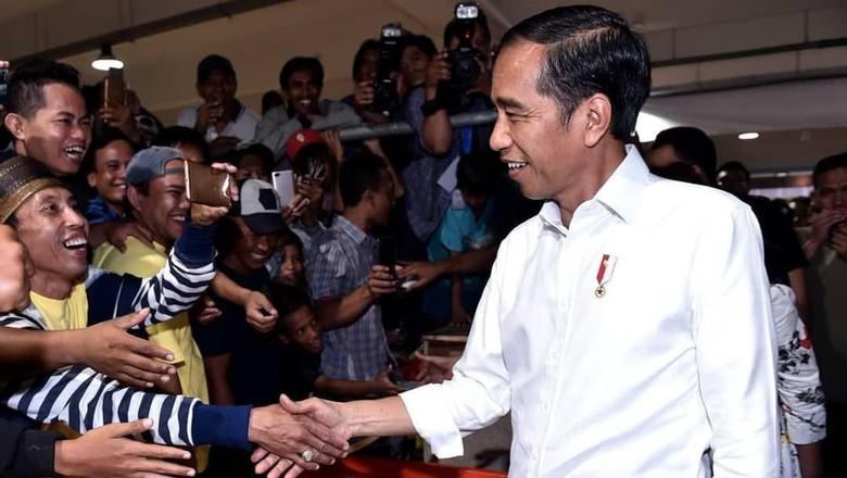 Presiden Jokowi di PIM Muara Baru (jokowi/Instagram)